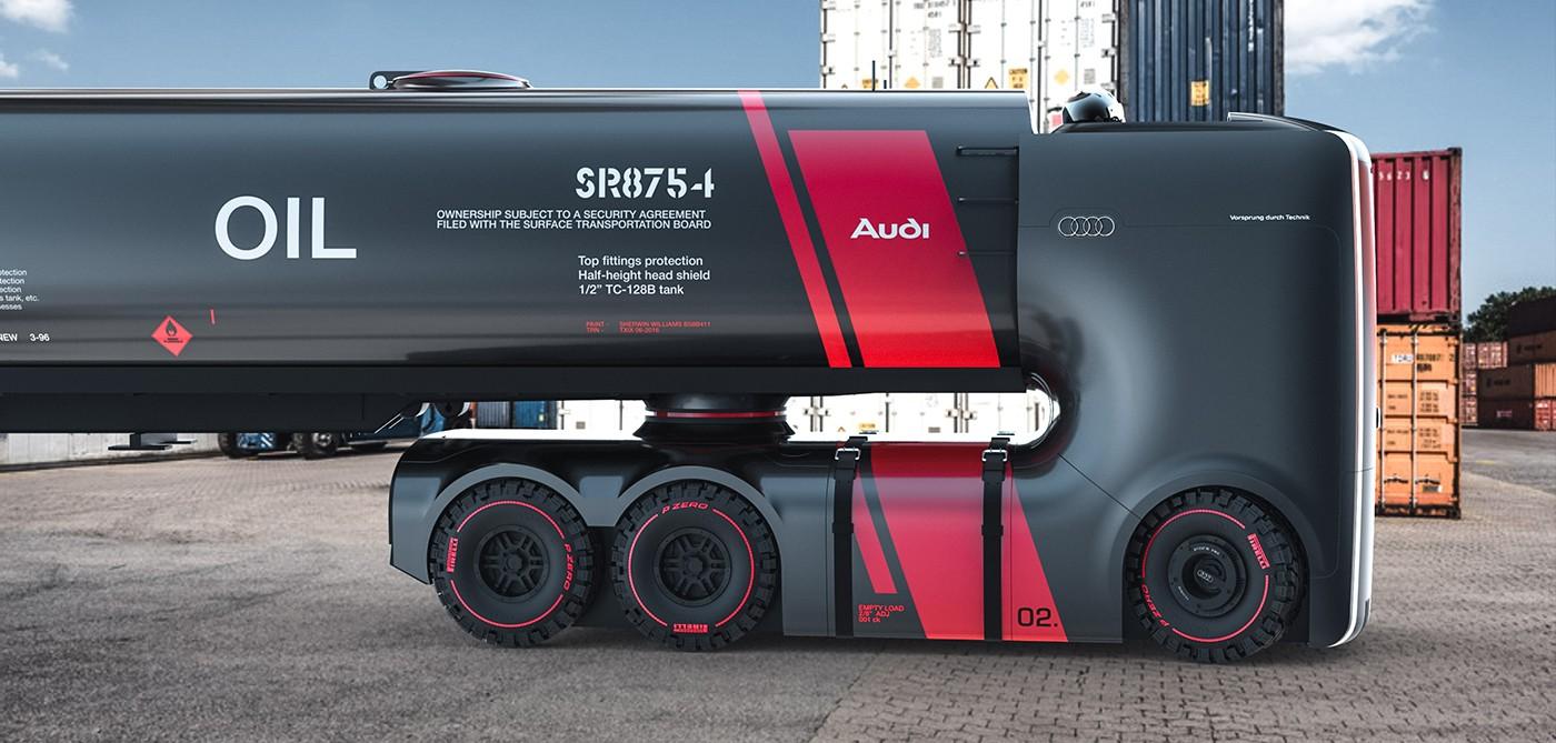 if audi did trucks
