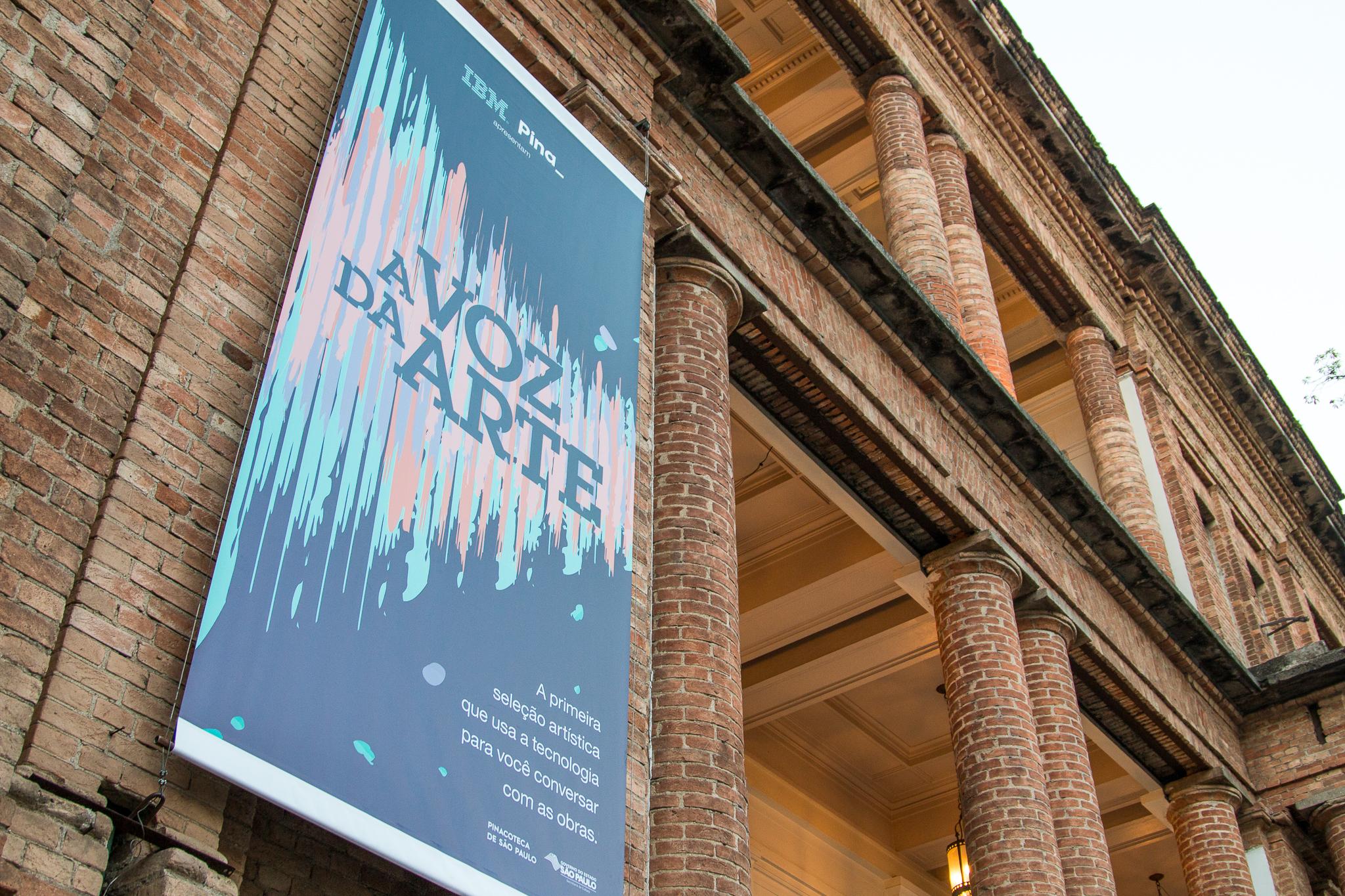 A VOZ DA ARTE IBM & Pinacoteca