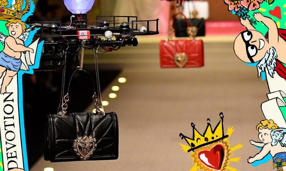 Dolce Gabbana goes digital: drones
