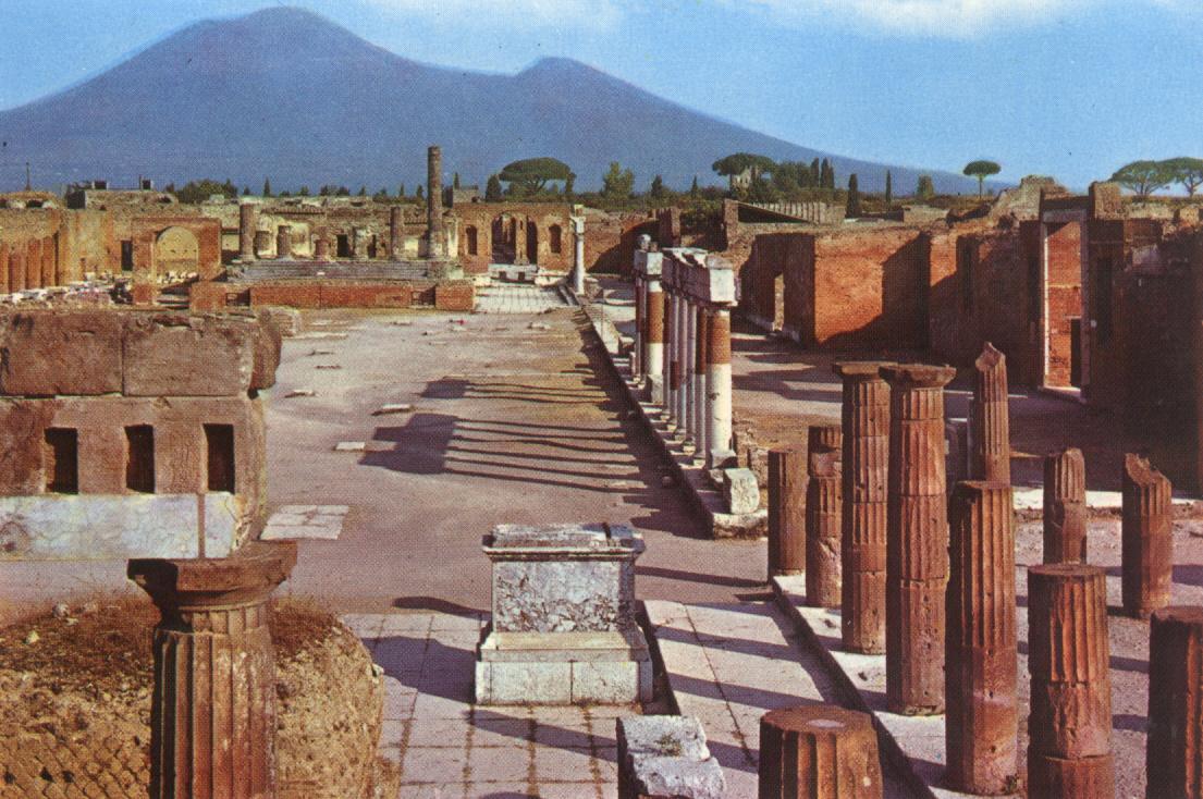 Pompéia e Vesuvio 3D um novo olhar do século XXI