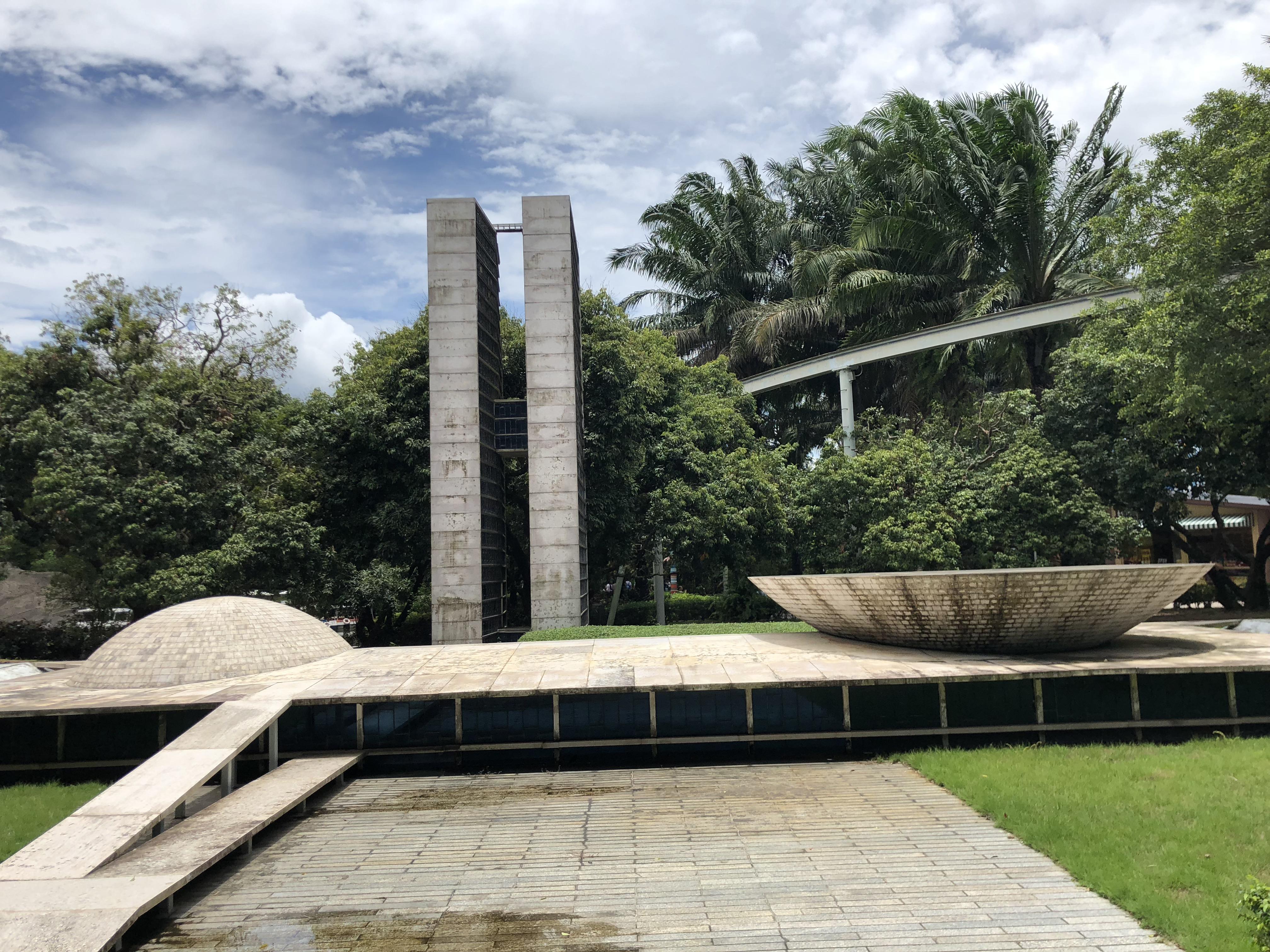 A miniatura do parlamento Brasileiro